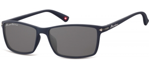 S51F;; Blue + smoke lenses  Rubbertouch - Soft Pouch Included ;57;17;140
