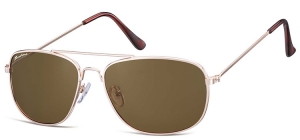 S93B;;<p> Gold + brown lens<br /> <br /> Soft Pouch Included</p> ;57;16;140