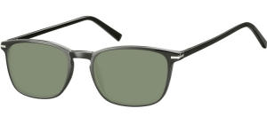 SG-CP120;; Black + G15 lenses  Injected CP Sunglasses - Optical Quality - UV400 - CAT 3. - Soft Pouch Included ;52;19;140