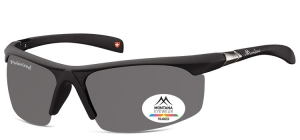 SP303;; Black  Polarized - Rubbertouch - Case included ;67;18;122
