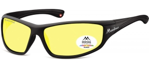 SP309E;; Black + Yellow polarized high contrast lenses  Polarized - Cat. 1 Yellow polarized high contrast lenses - Rubbertouch - Case included ;66;15;128