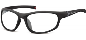 SP310D;;Black + clear (plano lens)Polarized - Cat. 0 Protective lenses - Rubbertouch - Case included;68;18;122