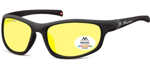 SP310E;;Black + Yellow polarized high contrast lensesPolarized - Cat. 1 Yellow polarized high contrast lenses - Rubbertouch - Case included;68;18;122