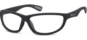 SP312E;;Black + clear (plano lens)Polarized - Cat. 0 Protective lenses - Rubbertouch - Case included;63;14;135