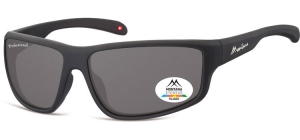 SP313;;Black + smoke lenses<br><br>Polarized - Rubbertouch - Case included;63;15;140