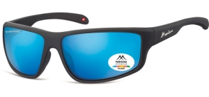 SP313C;;Black + Revo blue <br><br>Polarized - Revo lenses - Rubbertouch - Case included;63;15;140