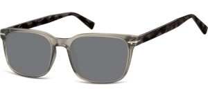 SS-CP119A;;<p> Transparent dark grey + turtle grey + smoke lenses<br /> <br /> Injected CP Sunglasses - Optical Quality - UV400 - CAT 3. - Soft Pouch Included</p> ;53;19;140