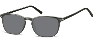 SS-CP120;; Black + smoke lenses  Injected CP Sunglasses - Optical Quality - UV400 - CAT 3. - Soft Pouch Included ;52;19;140